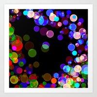 bubbles Art Prints featuring Bubbles by haroulita