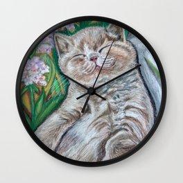 Kitten (A Midsummer Day's Dream) Wall Clock