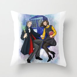 Space Adventure Throw Pillow