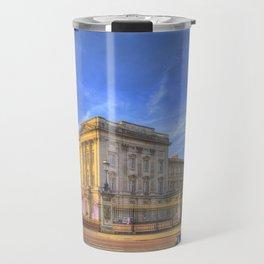 Buckingham Palace And london Taxis Travel Mug
