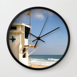 Laguna Beach Lifeguard Tower Wall Clock
