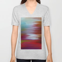 Abs painting Unisex V-Neck