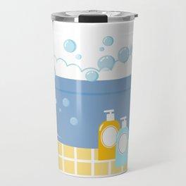 Bubble Bath Tub Travel Mug
