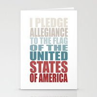 america Stationery Cards featuring America by Jason Michael