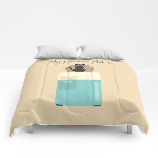 My Favorite Place Comforters