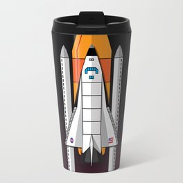 Space Shuttle night launch Travel Mug