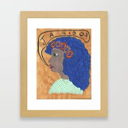 Jambo! Framed Art Print