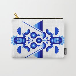 Libra in Blue Carry-All Pouch