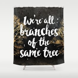 Branches of a Tree Shower Curtain