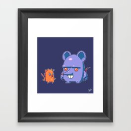 Mus Maximus Framed Art Print