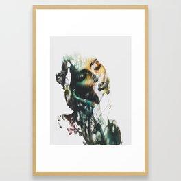 Fading Away Framed Art Print