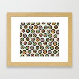 Hibotannishiki cactus Framed Art Print