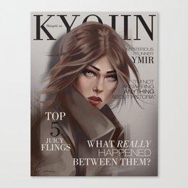 SnK Magazine: Ymir Canvas Print