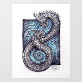 Amphisbaena Art Print