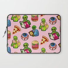 Pick and Mix of Bad Aliens Laptop Sleeve