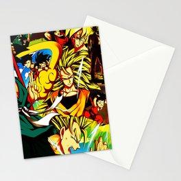 super saiyah goku Stationery Cards