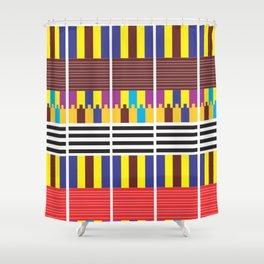 Tribal  Play II Shower Curtain