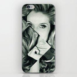 Frau Dreiecke 1 iPhone Skin