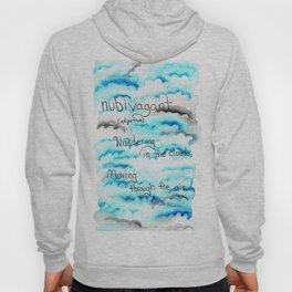 Watercolor Clouds Hoody