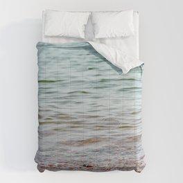 Calm Ocean View Comforters