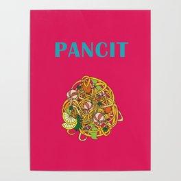 Filipino Kitchen Loteria - Pancit Poster