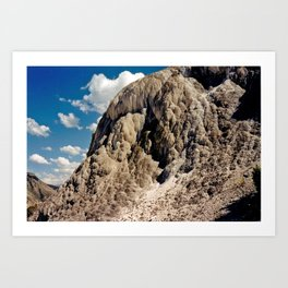 Mineral's Past Art Print