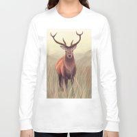 elk Long Sleeve T-shirts featuring ELK by Juliana Vidal
