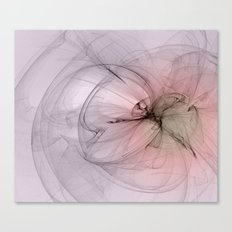 Floating creature abstract fractal Canvas Print