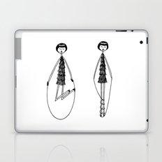 Unlike Eloise, Ramona had mastered the jump rope. Laptop & iPad Skin