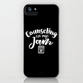 Counselor, School counselor psychologist iPhone Case