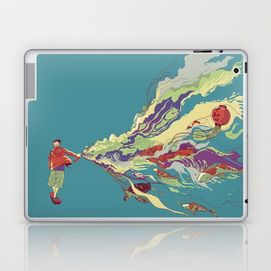 Bring it back Laptop & iPad Skin
