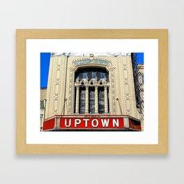 Uptown Theater, Chicago Framed Art Print