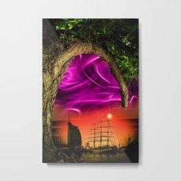 Bremerhaven - Sunset Metal Print