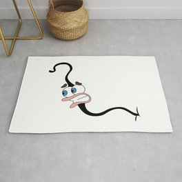Big Mouth Pube Rug