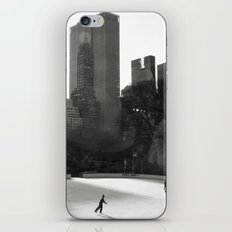 Central Park Skaters iPhone & iPod Skin