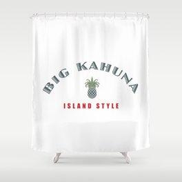 Big Kahuna Island StylePineapple Shower Curtain
