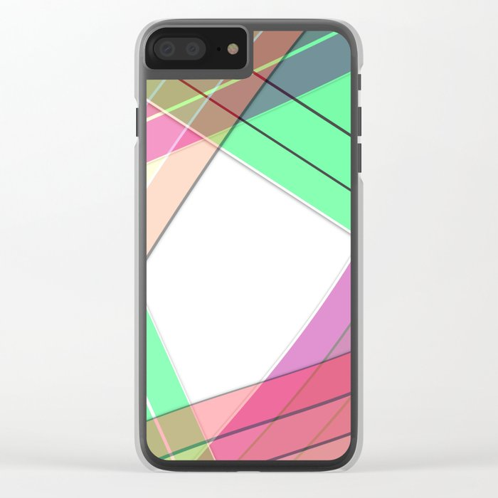 Silk ribbons 3 Clear iPhone Case