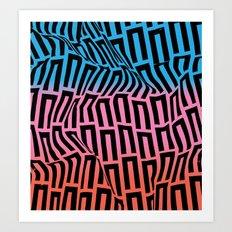 Swim Down Art Print