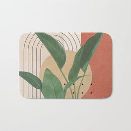 Nature Geometry V Bath Mat