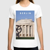 theatre T-shirts featuring BERLIN OST - VOLKSBÜHNE - Theatre by CAPTAINSILVA