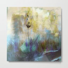 Painted Desertscape Metal Print