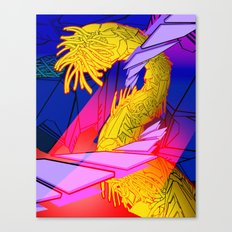 AUTOMATIC WORM 7 Canvas Print