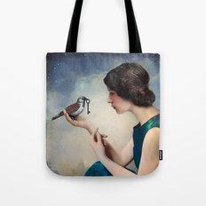 The Key to Wonderland Tote Bag