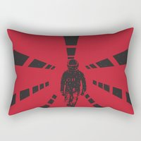 2001 Rectangular Pillows featuring 2001 by Geminianum