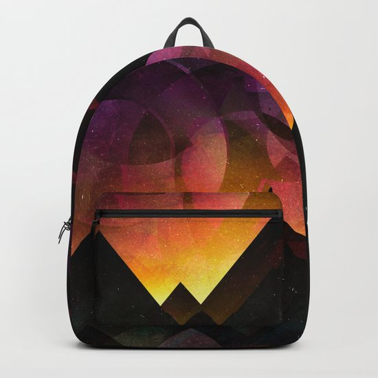 Whimsical mountain nights Backpack