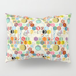 Math in color (little) Pillow Sham