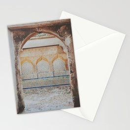 Alleyway in Tanger Stationery Cards