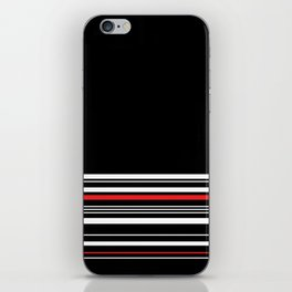The Classy Babe - Black iPhone Skin