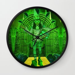 The Guardian of the Gates to The Emerald City Wall Clock
