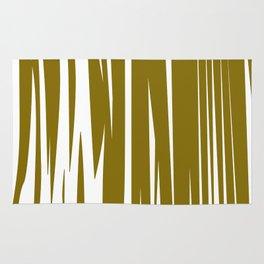 gold lines, wild ethno Elements gold Rug